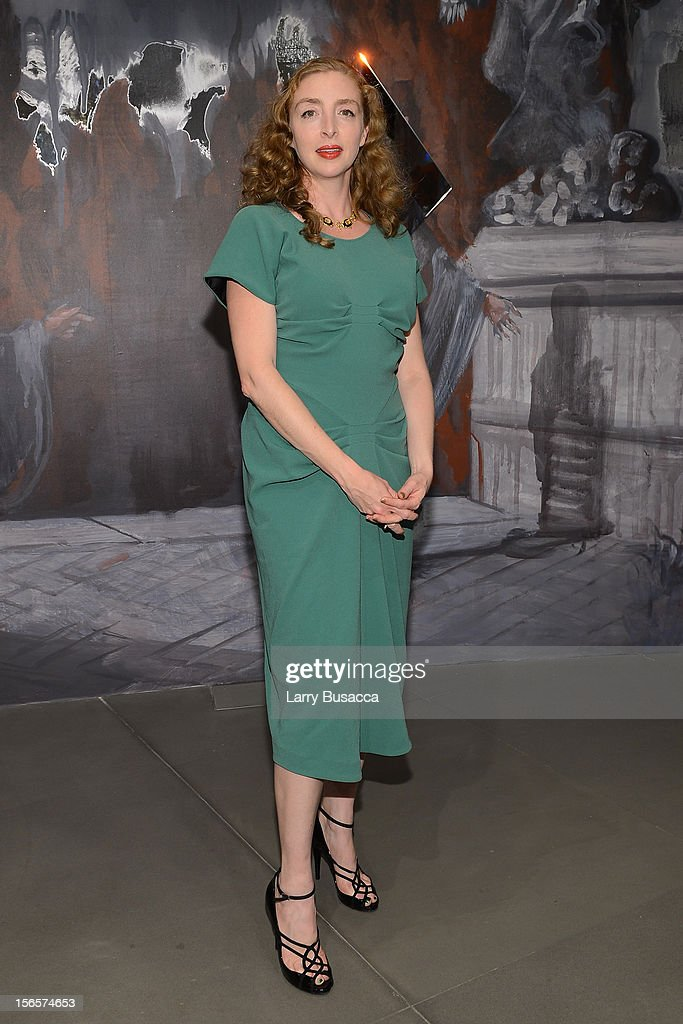 Rachel Feinstein attends the closing drinks at the Gagosian Gallery during the third day of the 2012 International Herald Tribune's Luxury Business Conference held at Rome Cavalieri on November 16, 2012 in Rome, Italy. The 12th annual IHT Luxury conference is the premier meeting point for the luxury industry. 500 delegates from 30 countries have gathered in Rome to hear from the world's most inspirational fashion designers and luxury business leaders.
