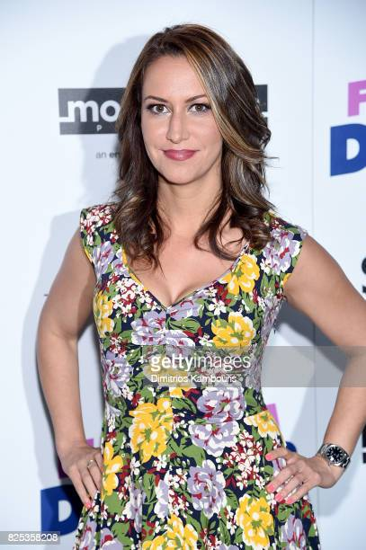 Rachel Feinstein attends the screening Of 'Fun Mom Dinner' at Landmark Sunshine Cinema on August 1 2017 in New York City