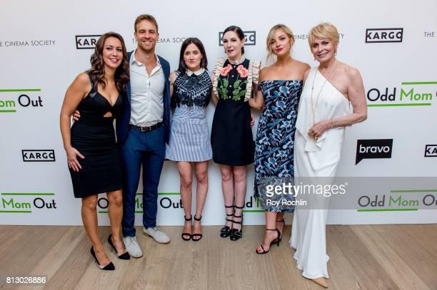 Rachel Feinstein Sean Kleier KK Glick Jill Kargman Abby Elliot and Joanna Cassidy attend The Cinema Society and Kargo host the season 3 Premiere Of...