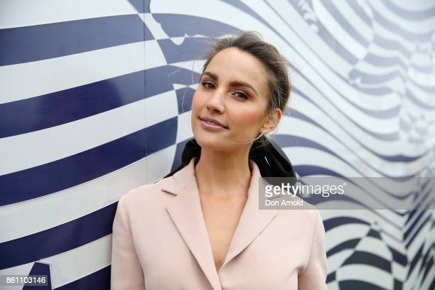 Rachel Finch attends TAB Everest Day at Royal Randwick Racecourse on October 14 2017 in Sydney Australia