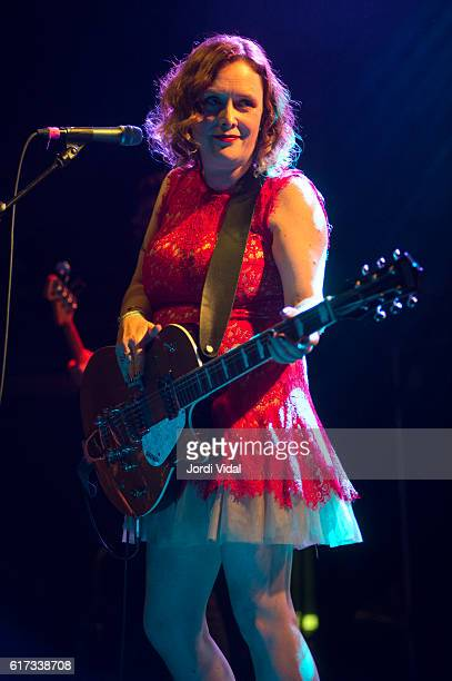 Rachel Goswell of Minor Victories performs during Primavera Club 2016 day 2 at Sala Apolo on October 22 2016 in Barcelona Spain