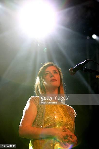 Rachel Goswell of Slowdive performs at Day 2 of Best Kept Secret at Beekse Bergen on June 21 2014 in Hilvarenbeek Netherlands