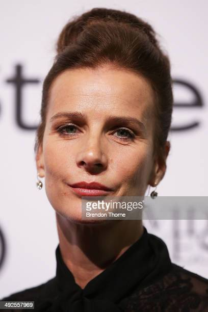 Rachel Griffiths arrives at the Instyle and Audi 'Women of Style' Awards on May 21 2014 in Sydney Australia