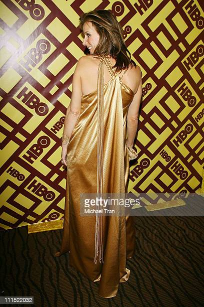 Rachel Griffiths arrives to the official HBO Golden Globe Awards afterparty held at Circa 55 Restaurant inside the Beverly Hilton held on January 11...