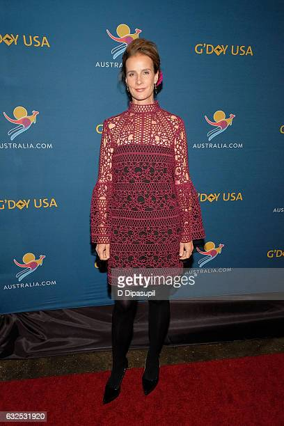 Rachel Griffiths attends A Virtual Tour of Australia at Hudson Mercantile on January 23 2017 in New York City