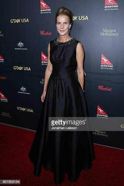 Rachel Griffiths attends the 2016 G'Day Los Angeles Gala at Vibiana on January 28 2016 in Los Angeles California