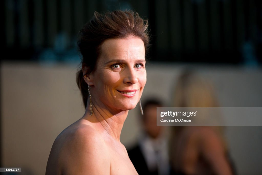 <a gi-track='captionPersonalityLinkClicked' href=/galleries/search?phrase=Rachel+Griffiths&family=editorial&specificpeople=208839 ng-click='$event.stopPropagation()'>Rachel Griffiths</a> attends the ATC Grandstand Gala Launch event to celebrate the new Australian Turf on October 10, 2013 in Sydney, Australia.