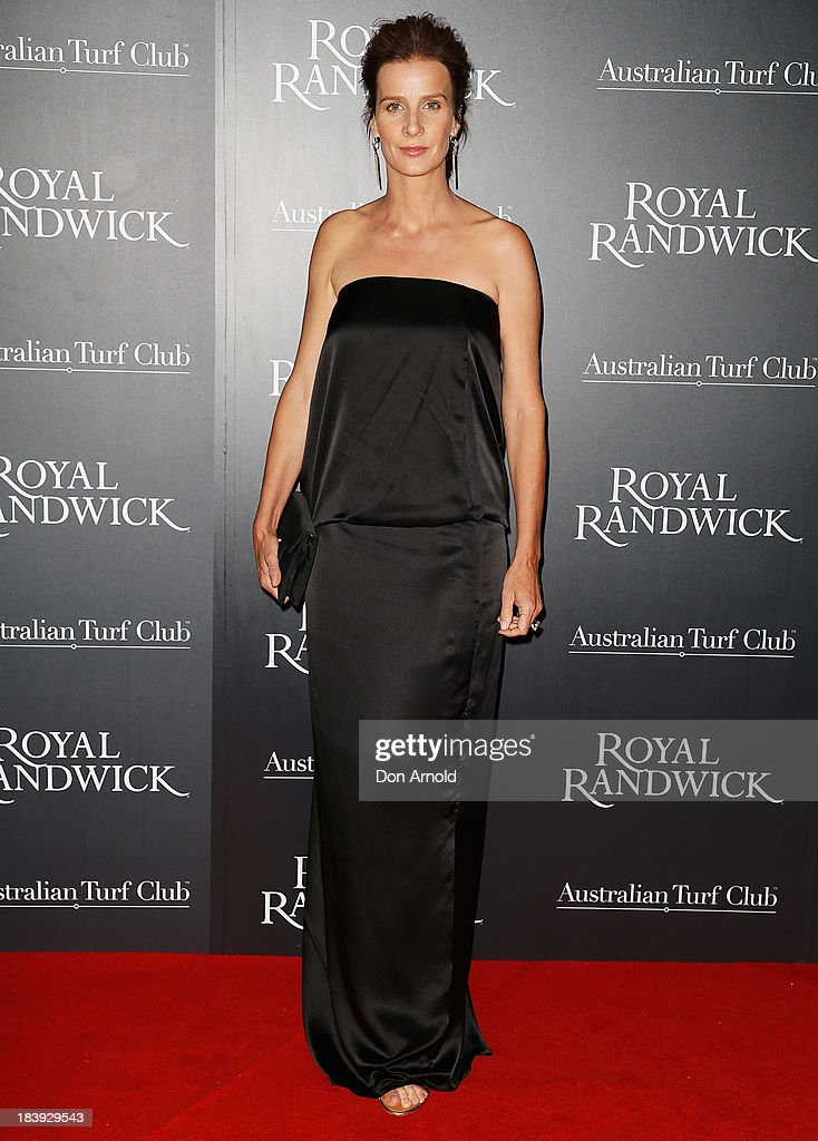 <a gi-track='captionPersonalityLinkClicked' href=/galleries/search?phrase=Rachel+Griffiths&family=editorial&specificpeople=208839 ng-click='$event.stopPropagation()'>Rachel Griffiths</a> attends the Gala Launch event to celebrate the new Australian Turf Club Grandstand at Royal Randwick Racecourse on October 10, 2013 in Sydney, Australia.