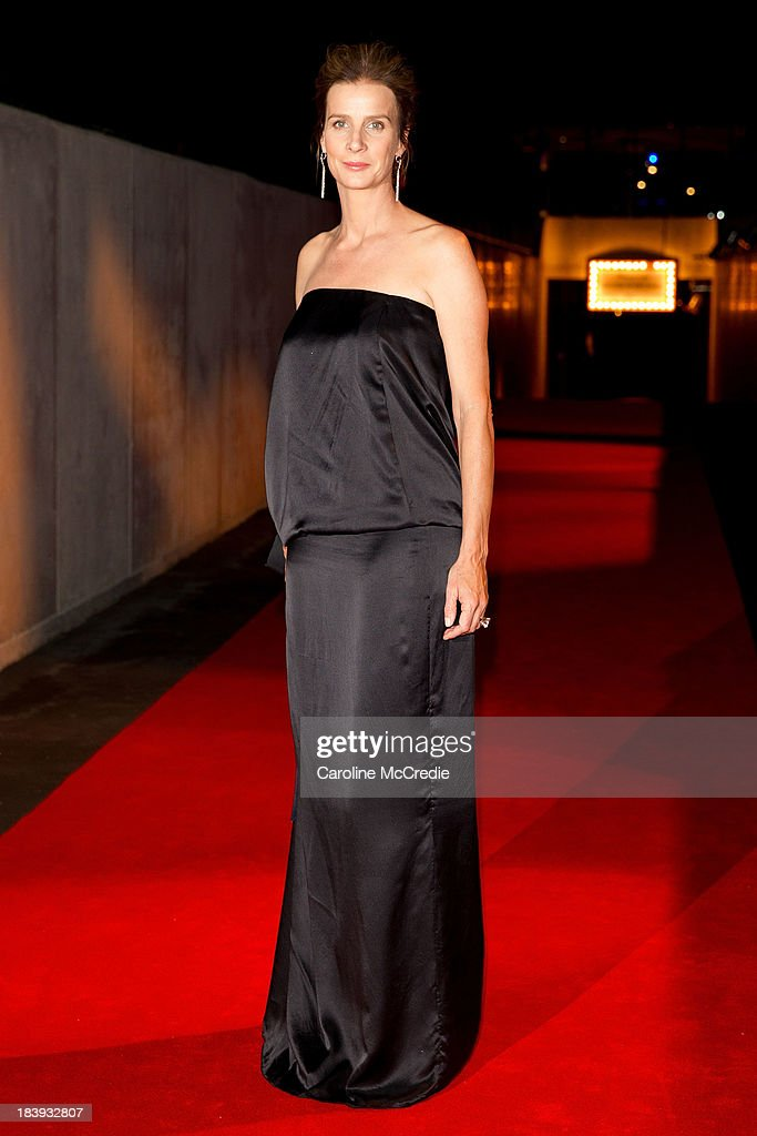 <a gi-track='captionPersonalityLinkClicked' href=/galleries/search?phrase=Rachel+Griffiths&family=editorial&specificpeople=208839 ng-click='$event.stopPropagation()'>Rachel Griffiths</a> attends the Gala Launch event to celebrate the new Australian Turf on October 10, 2013 in Sydney, Australia.