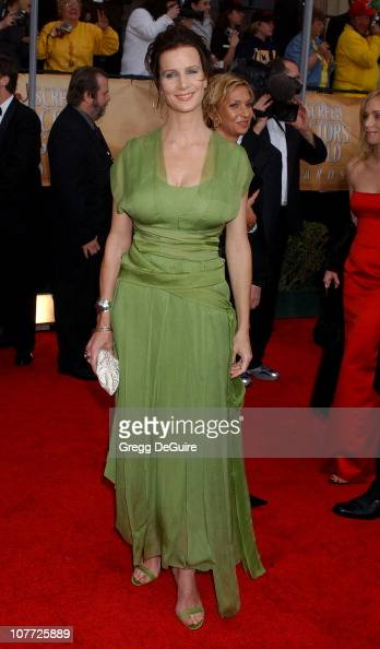 Rachel Griffiths during 10th Annual Screen Actors Guild Awards Arrivals at Shrine Auditorium in Los Angeles California United States