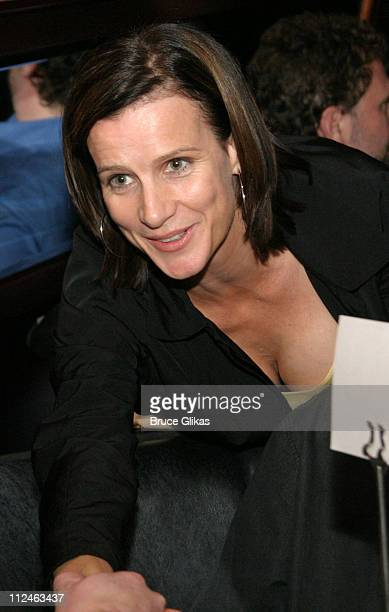 Rachel Griffiths during 'After The Fall' Broadway Opening Night After Party at BB Kings in New York City New York United States
