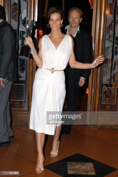 Rachel Griffiths during HBO Screen Actors Guild Party at Spago in Beverly Hills CA United States