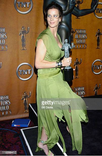 Rachel Griffiths during The 10th Annual Screen Actors Guild Awards Press Room at The Shrine Auditorium in Los Angeles California United States