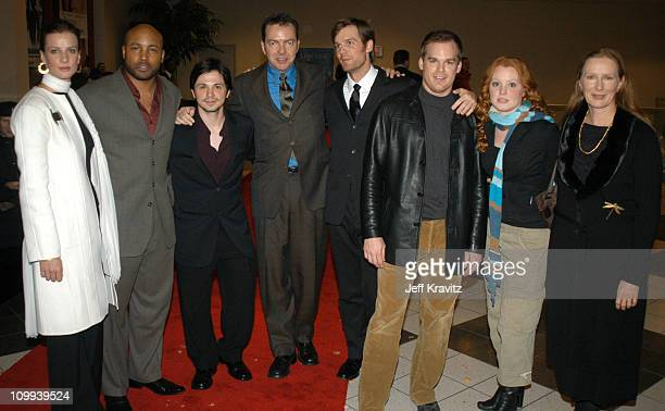Rachel Griffiths Mathew St Patrick Freddy Rodriguez Alan Ball Peter Krause Michael C Hall Lauren Ambrose and Frances Conroy
