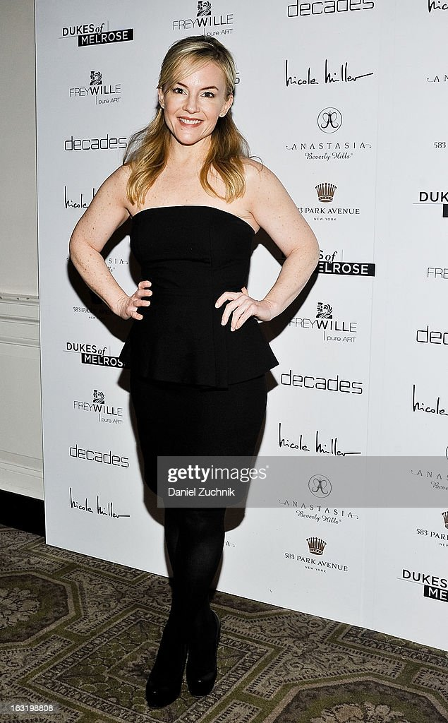 Rachel Harris attends the 'Dukes Of Melrose' Premiere at 583 Park Avenue on March 5, 2013 in New York City.