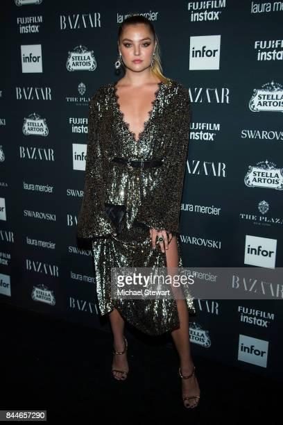 Rachel Hilbert attends 2017 Harper's Bazaar Icons at The Plaza Hotel on September 8 2017 in New York City