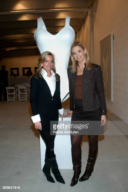 Rachel Hovnanian and Laurie Dhue attend POWER AND BURDEN OF BEAUTY By RACHEL HOVNANIAN Panel Discussion at 520 W 20th Street on October 29 2009 in...
