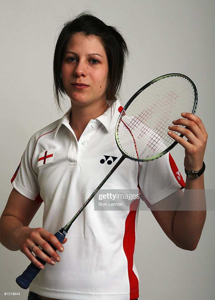 Rachel Howard poses for a photo prior to a training session at the National Badminton Centre on May 22, 2008 in Milton Keynes, England.