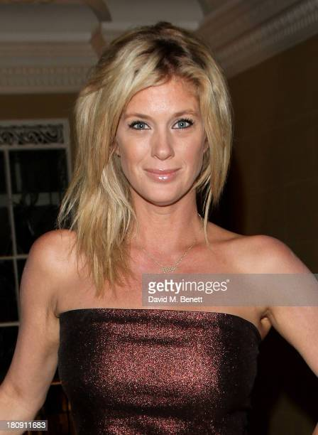 Rachel Hunter arrives at the Marie Claire 25th birthday celebration featuring Icons of Our Time in association with The Outnet at the Cafe Royal...