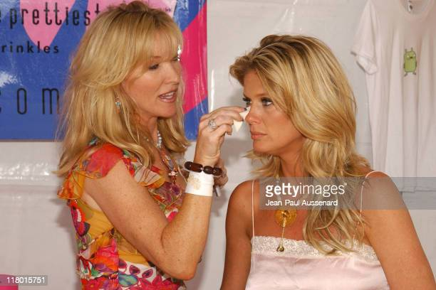 Rachel Hunter at MB York during Silver Spoon Hollywood Buffet Day 2 in Los Angeles California United States Photo by JeanPaul Aussenard/WireImage for...
