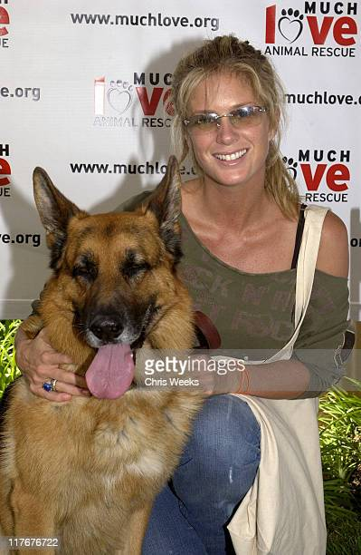 """Rachel Hunter at Much Love Animal Rescue during 'Silver Spoon Dog and Baby Buffet"""" Benefitting Much Love Animal Rescue Day One at Private Residence..."""