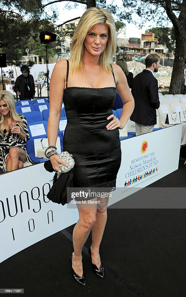 Rachel Hunter attends Amber Lounge Fashion Monaco 2013 at Le Meridien Beach Plaza Hotel on May 24, 2013 in Monaco, Monaco.