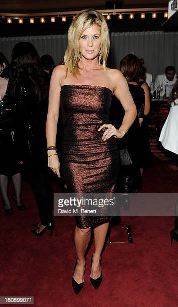 Rachel Hunter attends the Marie Claire 25th birthday celebration featuring Icons of Our Time in association with The Outnet at the Cafe Royal Hotel...