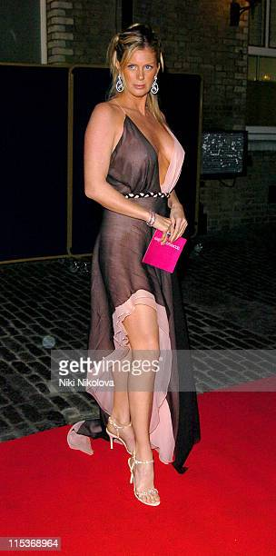 Rachel Hunter during 'Make Me A Supermodel' Finale Arrivals in London Great Britain