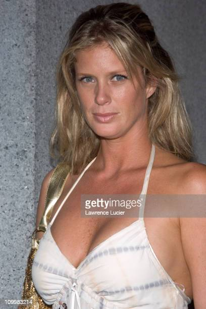 Rachel Hunter during The Cipriani Wall Street Concert Series Presents Marc Anthony September 15 2005 at Ciprianis Downtown in New York City New York...
