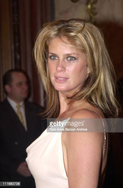 Rachel Hunter during World Music Awards 2002 PreAwards Cocktail at MonteCarlo Casino in MonteCarlo Monaco
