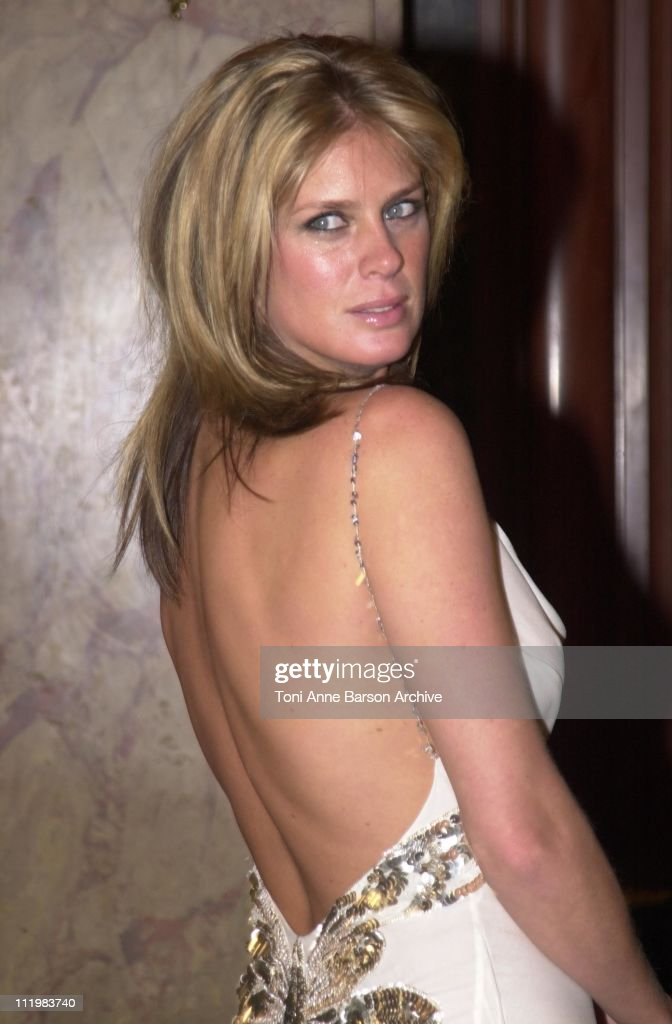 Rachel Hunter during World Music Awards 2002 - Pre-Awards Cocktail at Monte-Carlo Casino in Monte-Carlo, Monaco.