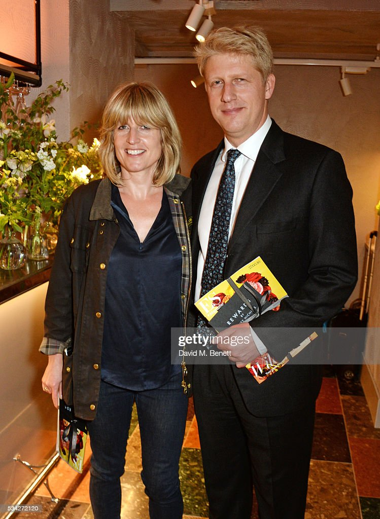 <a gi-track='captionPersonalityLinkClicked' href=/galleries/search?phrase=Rachel+Johnson&family=editorial&specificpeople=3128765 ng-click='$event.stopPropagation()'>Rachel Johnson</a> (L) and Jo Johnson attend the London Evening Standard Londoner's Diary 100th Birthday Party in partnership with Harvey Nichols at Harvey Nichols on May 25, 2016 in London, England.