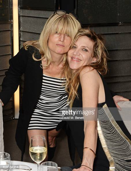 Rachel Johnson and Martha Fiennes attend the Liberatum Cultural Honour for Francis Ford Coppola at The Bulgari Hotel on November 17 2014 in London...