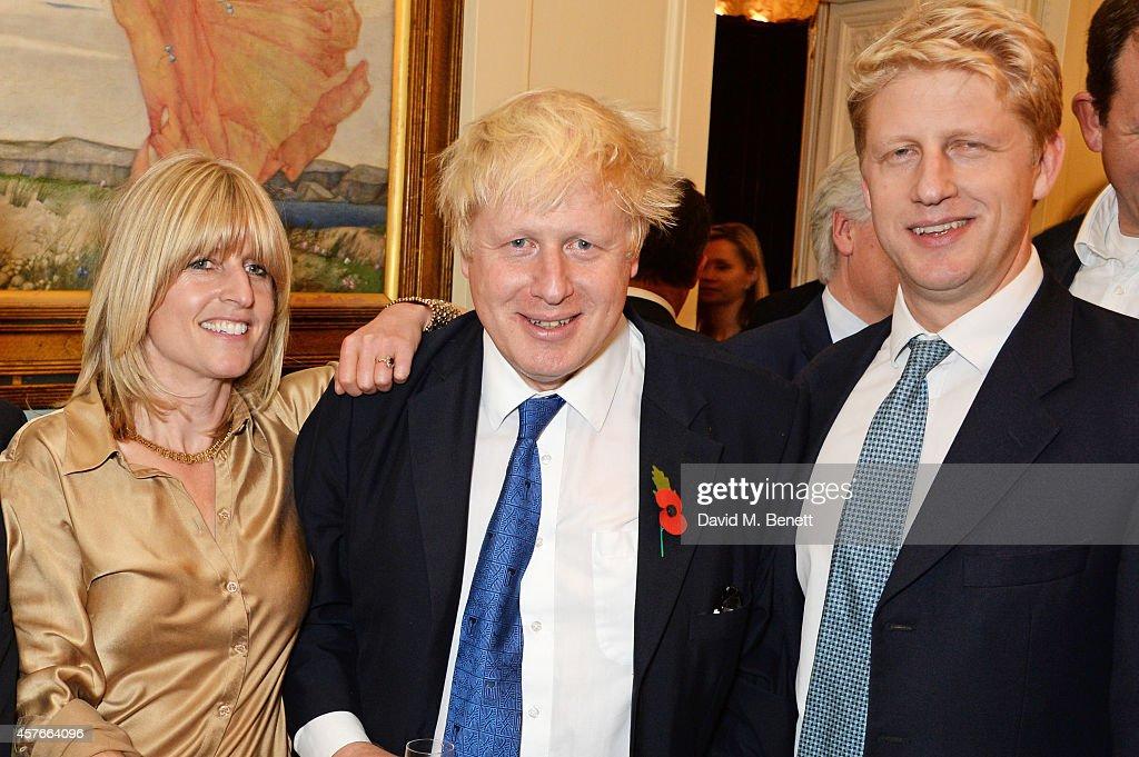 Rachel Johnson Mayor of London Boris Johnson and Jo Johnson attend the launch of Boris Johnson's new book 'The Churchill Factor How One Man Made...