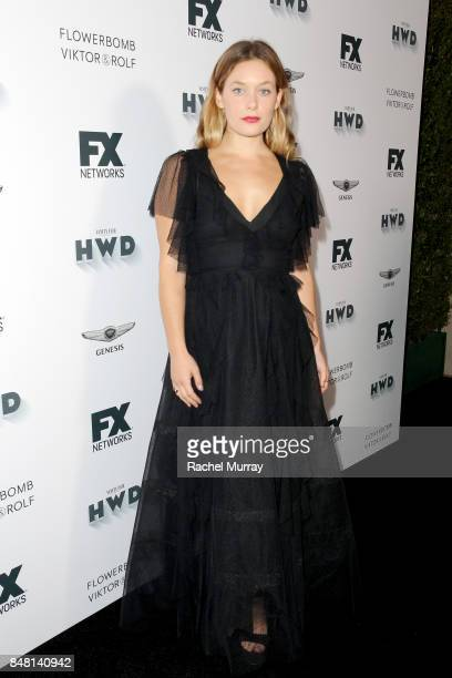 Rachel Keller attends FX Networks celebration of their Emmy nominees in partnership with Vanity Fair at Craft on September 16 2017 in Century City...