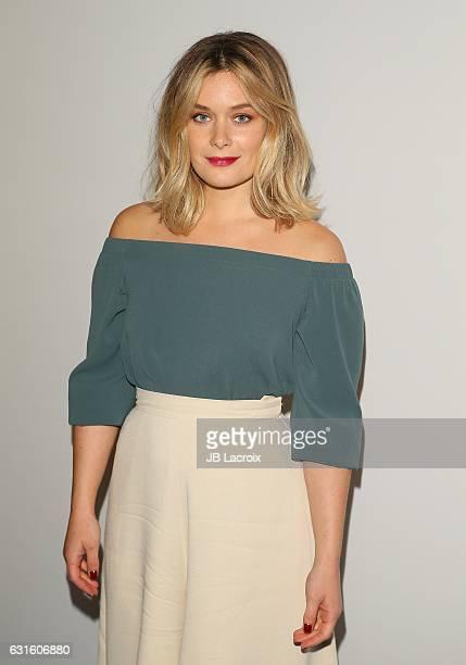 Rachel Keller attends the 2017 Winter TCA Tour FX Starwalk on January 12 2017 in Pasadena California