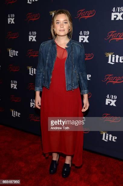 Rachel Keller attends the FX Network 2017 AllStar Upfront at SVA Theater on April 6 2017 in New York City
