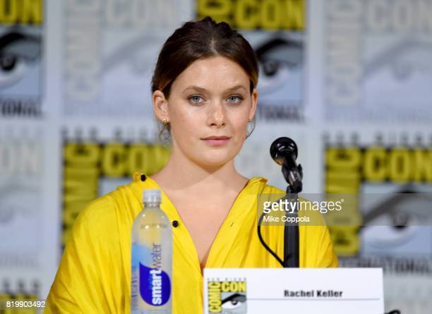 Rachel Keller speaks onstage at the 'Legion' screening and QA during ComicCon International 2017 at San Diego Convention Center on July 20 2017 in...