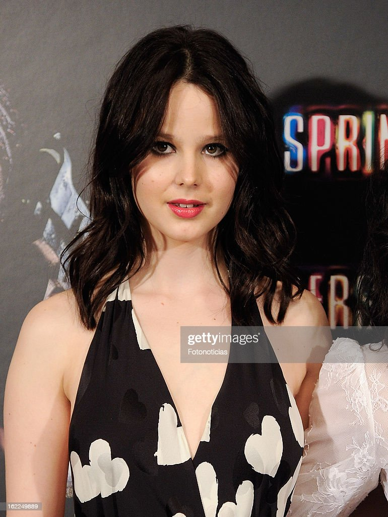 Rachel Korine attends a photocall for Spring Breakers at the Villamagna Hotel on February 21, 2013 in Madrid, Spain.