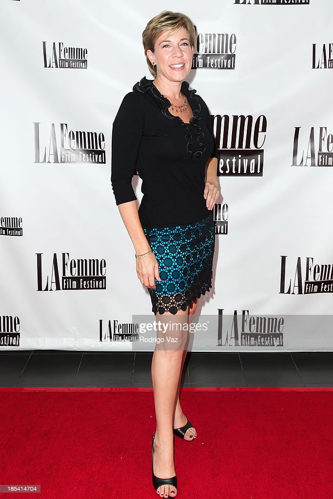 Rachel Langdon attends the 9th Annual La Femme International Film Festival 'A Case Of You' premiere at Regal Cinemas L.A. Live on October 19, 2013 in Los Angeles, California.