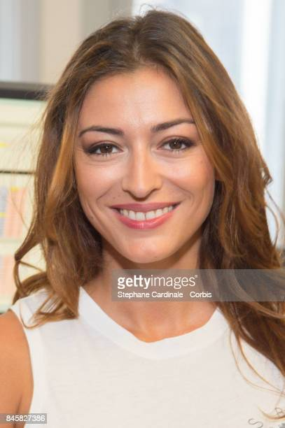 Rachel Legrain Trapani attends the Aurel BGC Charity Benefit Day 2017 on September 11 2017 in Paris France