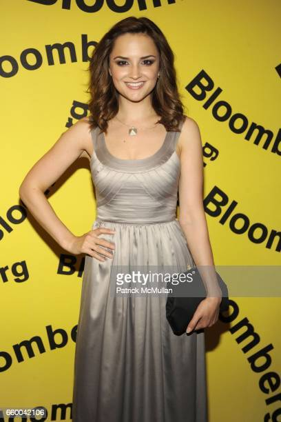 Rachel Leigh Cook attends BLOOMBERG White House Correspondents' PreDinner Cocktails at The Washington Hilton on May 9 2009 in Washington DC