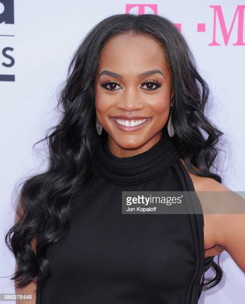 Rachel Lindsay arrives at the 2017 Billboard Music Awards at TMobile Arena on May 21 2017 in Las Vegas Nevada