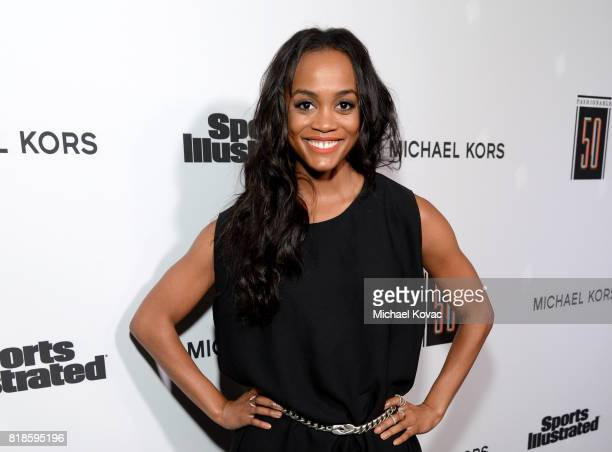 Rachel Lindsay at Sports Illustrated 2017 Fashionable 50 Celebration at Avenue on July 18 2017 in Los Angeles California