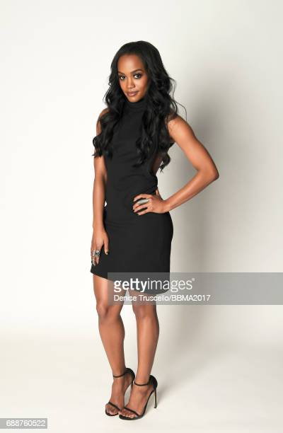 Rachel Lindsay poses for a portrait during the 2017 Billboard Music Awards at TMobile Arena on May 21 2017 in Las Vegas Nevada