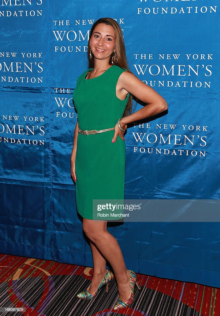 Rachel Lloyd, Founder and CEO of Girls Educational & Mentoring Services attends The 26th Annual Celebrating Women Breakfast at The New York Marriott Marquis on May 9, 2013 in New York City.