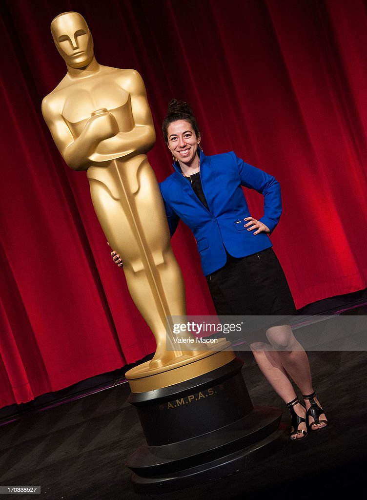 Rachel Loube attends The Academy Of Motion Picture Arts And Sciences' 40th Annual Student Academy Awards Ceremony at AMPAS Samuel Goldwyn Theater on...