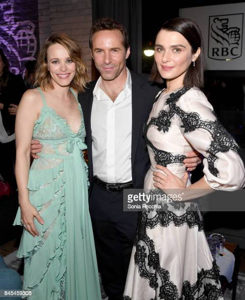 Rachel McAdams Alessandro Nivola and Rachel Weisz attend the 'Disobedience' cocktail party hosted by RBC at RBC House Toronto Film Festival 2017 on...