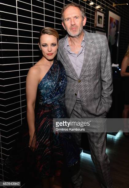 Rachel McAdams and director Anton Corbijn attend Lionsgate and Roadside Attraction's premiere of 'A Most Wanted Man' hosted by The Cinema Society and...