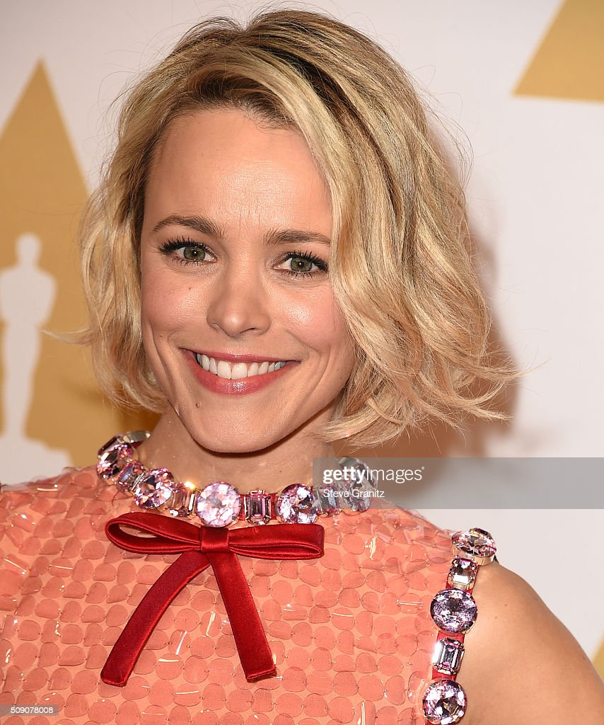 <a gi-track='captionPersonalityLinkClicked' href=/galleries/search?phrase=Rachel+McAdams&family=editorial&specificpeople=212942 ng-click='$event.stopPropagation()'>Rachel McAdams</a> arrives at the 88th Annual Academy Awards Nominee Luncheon on February 8, 2016 in Los Angeles, California.